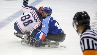 Download Italy v Great Britain (highlights) - 2013 IPC Ice Sledge Hockey Qualification Tournament Torino Video