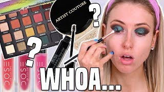 Download Testing NEW MAKEUP BRANDS from the DRUGSTORE & SEPHORA || Full Day Wear Test! Video