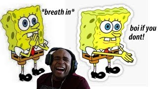 Download Try Not To Laugh Challenge The Best Of Spongebob SquarePants Edition Video