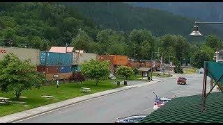 Download Skykomish, Washington USA - Virtual Railfan LIVE Video