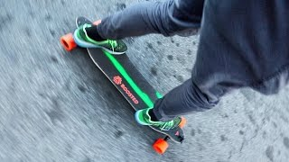 Download FiRST TIME ON A BOOSTED BOARD FAiL Video
