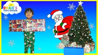 Download Christmas Morning 2015 Opening Presents Surprise Toys Ryan ToysReview Video
