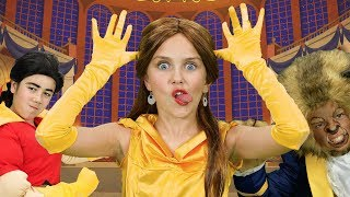 Download The Best Beauty and the Beast Finger Family Song   FunPop! Video