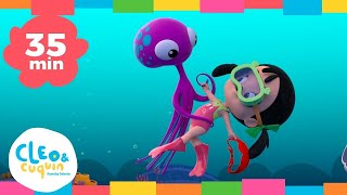 Download LA REINA DE LOS MARES - canciones infantiles con Cleo y Cuquin Video