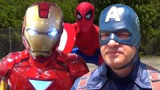 Download CAPTAIN AMERICA: CIVIL WAR PARODY! (Marvel Spoof) Video