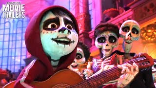 Download 5 Fun-Filled New Clips for Pixar's COCO Family Adventure Video