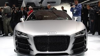 Download 2018 Audi R8 V10 Convertible - 2017 New York International Autoshow Video