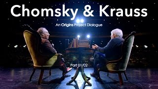Download Chomsky & Krauss: An Origins Project Dialogue - (Part 1/2) Video