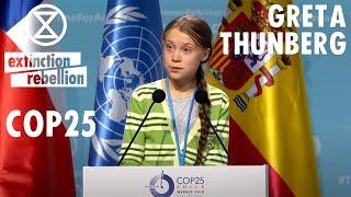 Download Greta Thunberg | COP 25 High Level Event on Climate Emergency | Extinction Rebellion Video