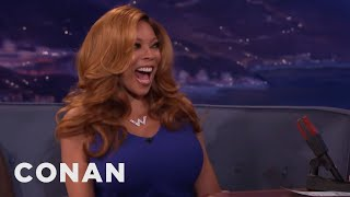 Download Wendy Williams' Son Walked In On Wendy & Her Husband - CONAN on TBS Video