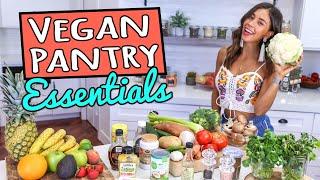 Download MY VEGAN PANTRY ESSENTIALS + Shopping List! Video