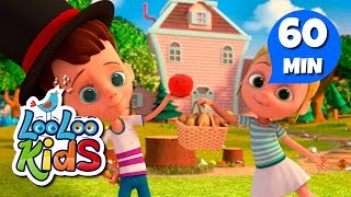 Download One Potato, Two Potatoes - Learn English with Songs for Children | LooLoo Kids Video