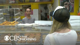 Download California community buys out donuts so shop owner can spend time with sick wife Video