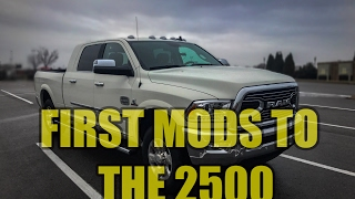 Download 2017 Ram 2500 Cummins walk around & first small mods Video