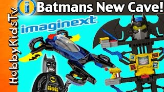 Download IMAGINEXT Batman's Transforming Cave and Car by HobbyKidsTV Video