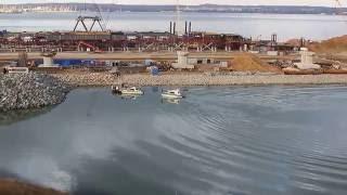 Download Строительство Керченского моста Video