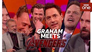 Download Graham Norton meets THE AVENGERS - The Graham Norton Show - BBC One Video