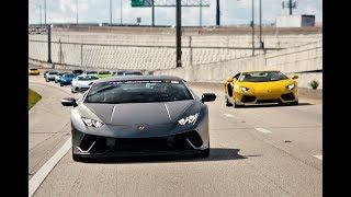 Download 300+ Supercars TAKE OVER streets Lamborghini Bugatti Pagani Koenigsegg Exotic Car TOY RALLY 2017 Video