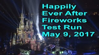 Download Disney World Happily Ever After Fireworks Testing May 9, 2017 from Contemporary Resort Video