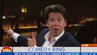 Download Comedy king heads Down Under - Michael McIntyre Video