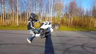 Download 70cc Yamaha Aerox Stunt Video