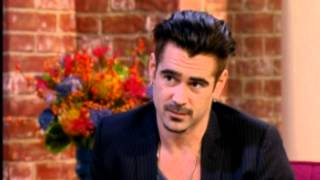Download Colin Farrell makes Holly Willoughby Blush - This Morning Video