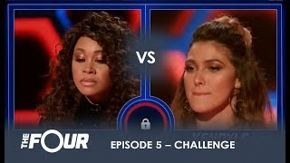Download Evvie vs Kendyle: The Most UNEXPECTED Battle Of The Night! | S1E5 | The Four Video