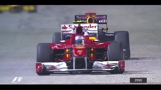 Download Your Favourite Singapore Grand Prix - 2010 Alonso Fends Off Vettel Video