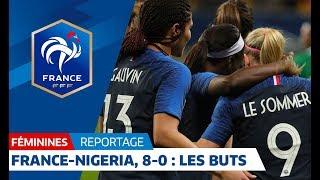 Download France-Nigeria Féminines : 8-0, tous les buts I FFF 2018 Video
