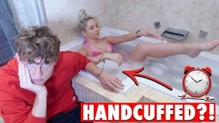 Download 24 HOURS HANDCUFFED to my TEEN BROTHER! *never again..* Video