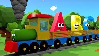 Download Alfabet dla dzieci - Pociąg 3D | CzyWieszJak Video
