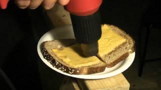 Download Heat Gun Grilled Cheese Sandwich Video