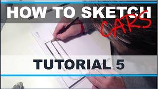 Download Car Sketch Tutorial P 5 Video