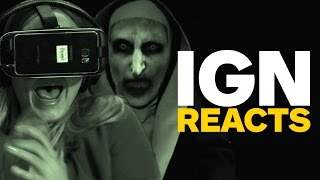 Download IGN Reacts to The Conjuring 2 VR Trailer Video