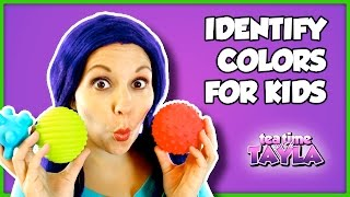 Download Identify Colors for Kids | Learn Colors Game with Tea Time with Tayla Video