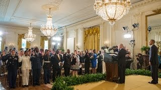 Download The President Speaks at a Naturalization Ceremony Video