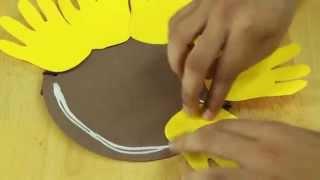 Download Nice flower mask crafts : Making Masks for Kid's Crafts Video