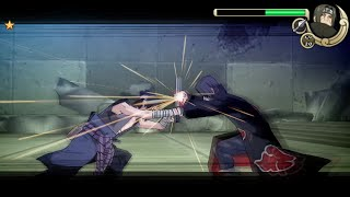 Naruto Shippuden Ultimate Ninja Impact Walkthrough Part 25 Sasuke vs