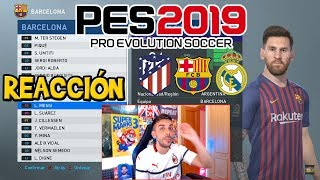 Download DjMaRiiO REACCIONA A CARAS Y MEDIAS DEL Madrid, Barça y Ath Madrid   PES 2019 Video