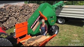 Download 10 Extreme Fast Automatic Firewood Processing Machine,Modern Wood Cutting Machine Splitting Firewood Video