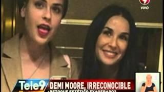 Download Demi Moore, irreconocible ¿Retoque estético exagerado? Video