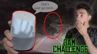 Download DO NOT ASK GOOGLE HOME ABOUT CLINTON ROAD AT 3:00 AM *THIS HAPPENS* CLINTON ROAD 3 AM CHALLENGE Video