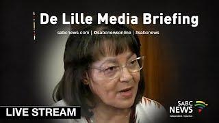 Download De Lille media briefing, 18 November 2018 Video