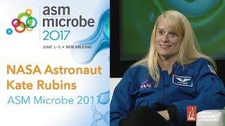 Download Microbiologist and NASA astronaut Kate Rubins at ASM Microbe 2017 Video