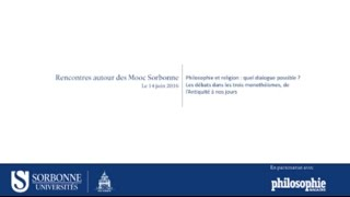Download Rencontres autour des Mooc Sorbonne - juin 2016 Video