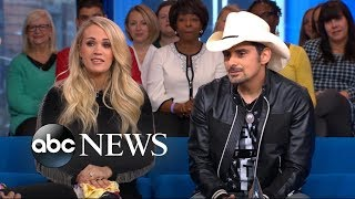 Download Carrie Underwood and Brad Paisley play a game of 'Country Grammar' on 'GMA Day' Video