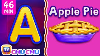 Download Food Alphabets ABC Phonics Song & Many More Nursery Rhymes & Kids Songs | ChuChu TV Video
