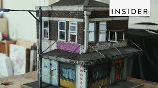 Download Sculpture Artist Recreates City Streets Video