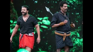 Download Amma Mazhavillu I Shajipappan and Pulimurugan shares the stage I Mazhavil Manorama Video