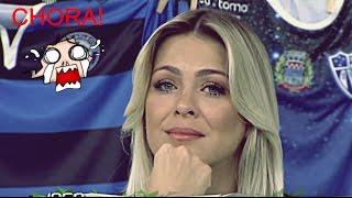 Download Renata Fan CHORA com zueira de Denílson Show no Jogo Aberto | 08/05/2017 Video